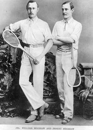 why tennis players wear white