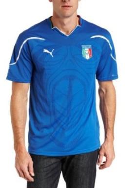 Blue Italian Soccer Shirt